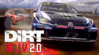EXPERIENCE ICONIC COLIN MCRAE RALLY MOMENTS AND MORE IN DiRT RALLY 2.0™ GAME OF THE YEAR