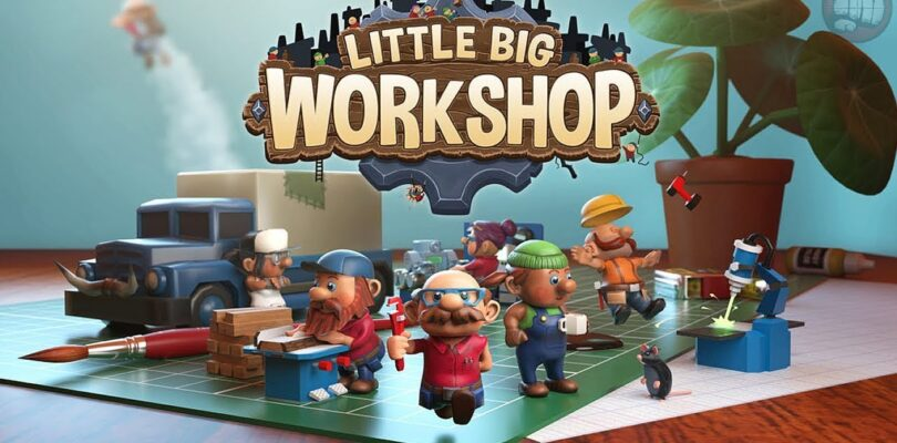 """It's time to open shop… """"Little Big Workshop"""" will be out today on Steam and GOG"""
