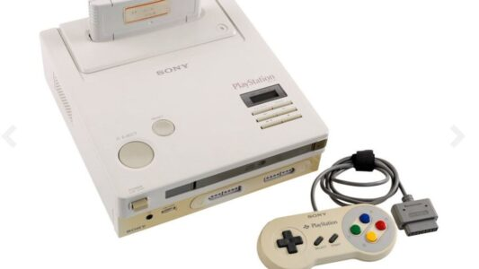 Nintendo PlayStation: Rare unreleased games console goes up for auction