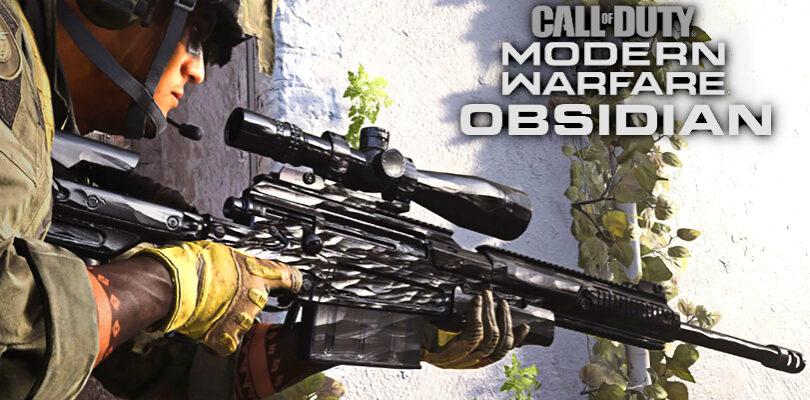 Modern Warfare: How to Unlock Obsidian Camo In Multiplayer
