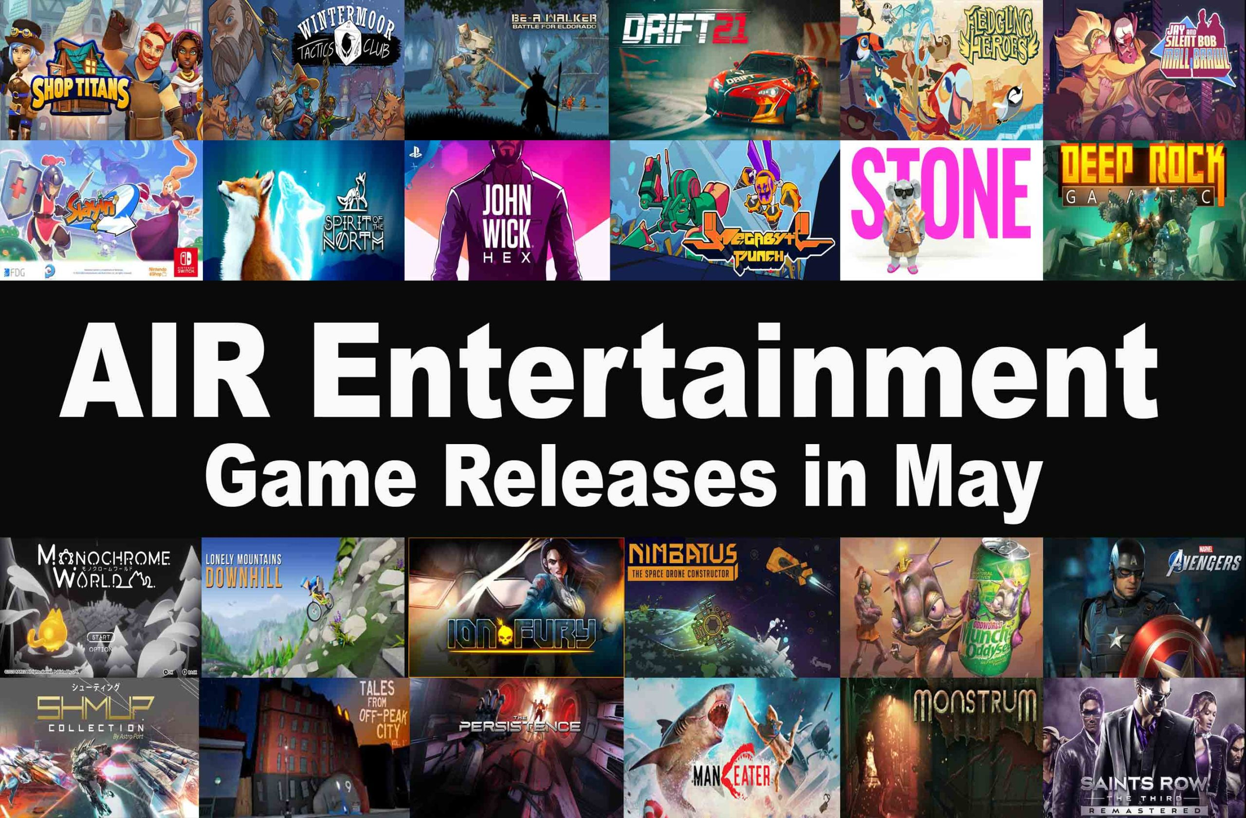 Game Releases in May