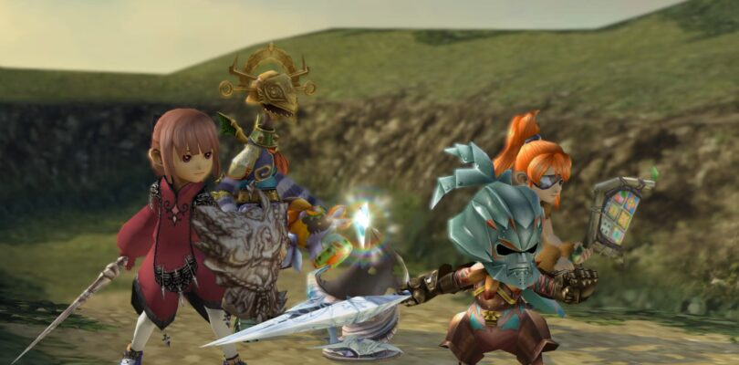 Crystal Bearers unite this August in Final Fantasy Crystal Chronicles remastered edition
