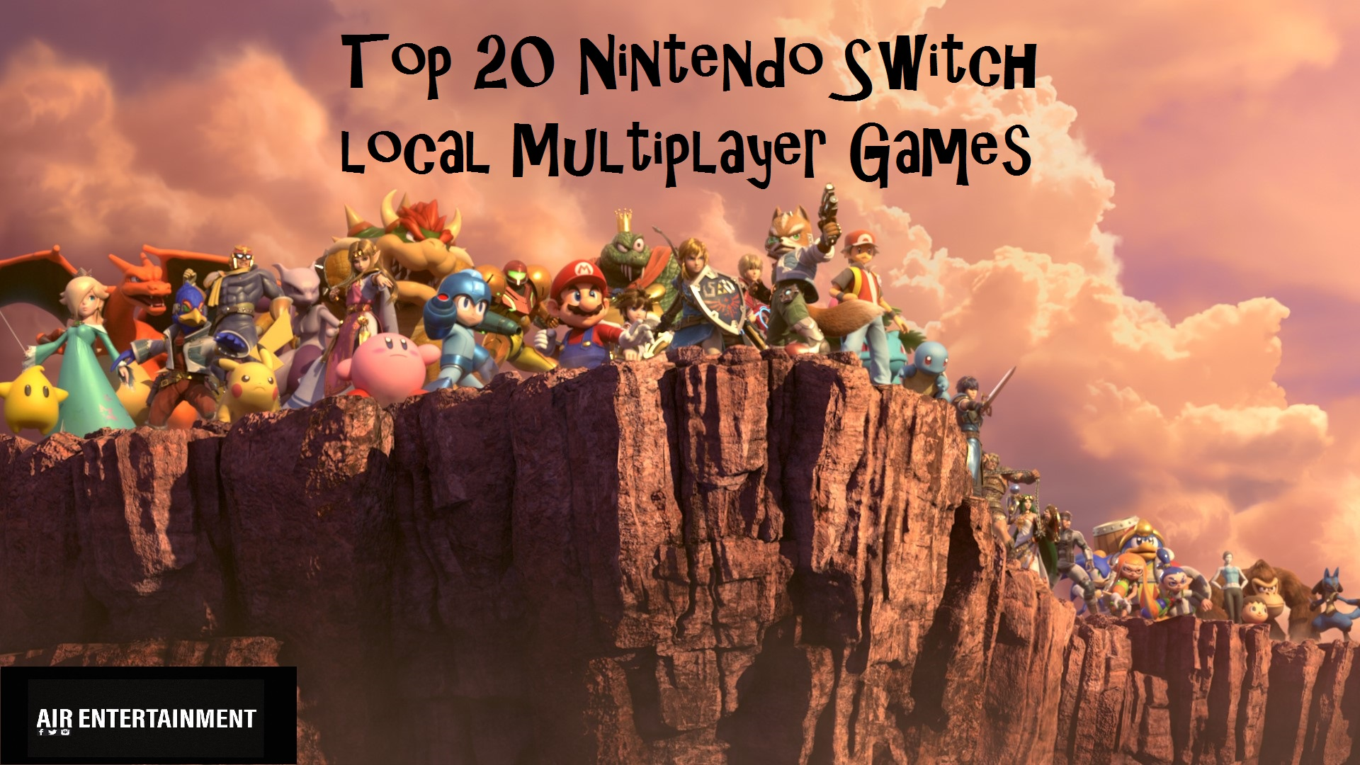 Top 20 Nintendo Switch Local Multiplayer Games