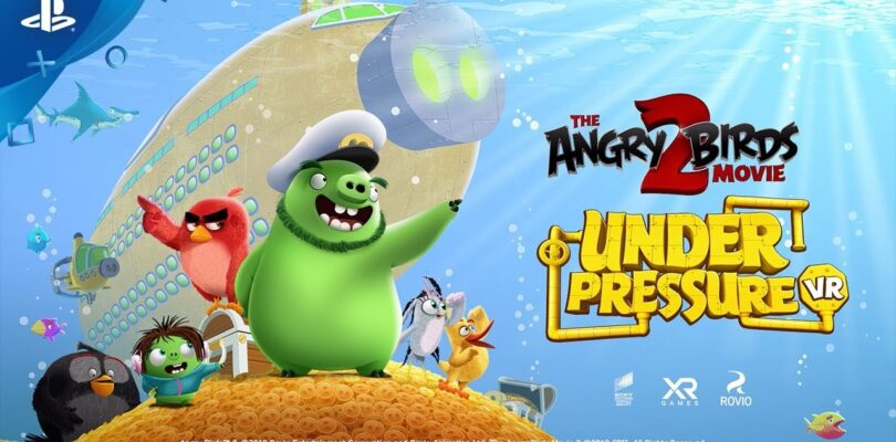 XR Games to give away 500 copies of Angry Birds Under Pressure VR
