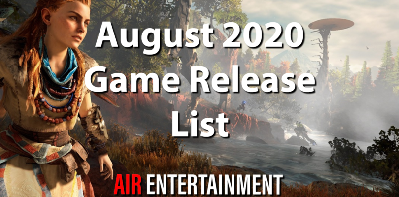 Complete Games List of August 2020 – With Review & Purchase Links
