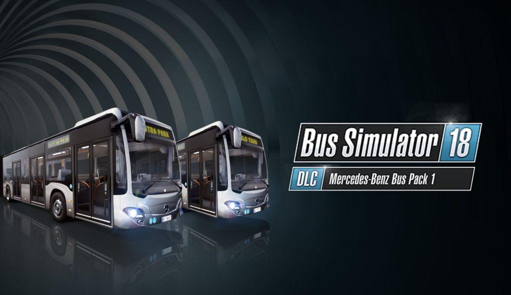 Bus Simulator Mercedes-Benz Bus Pack 1 DLC