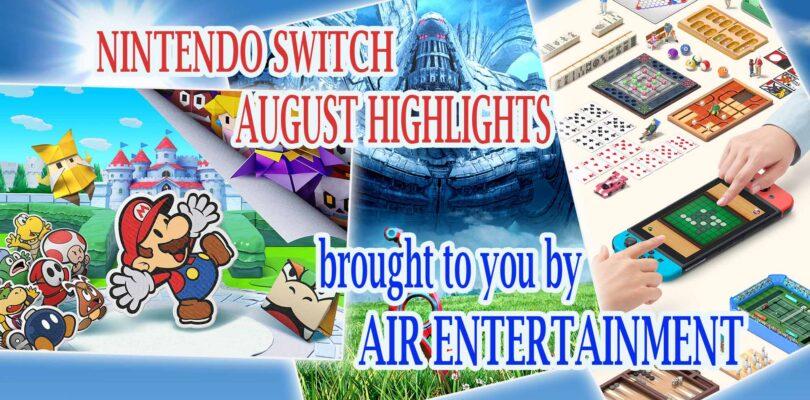 Nintendo Switch August Highlights | AIR Entertainment