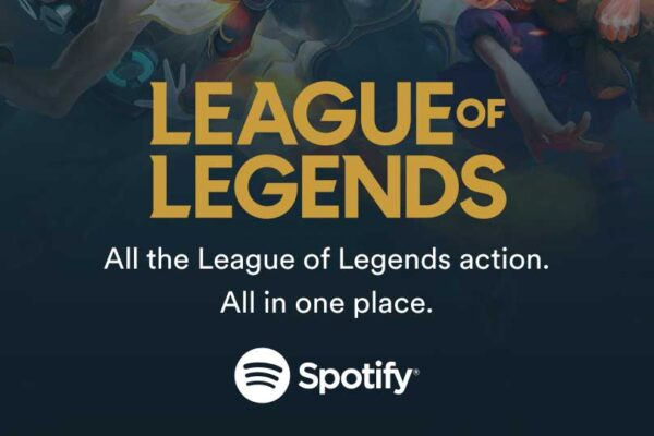 Spotify exclusive League of Legends sound deal