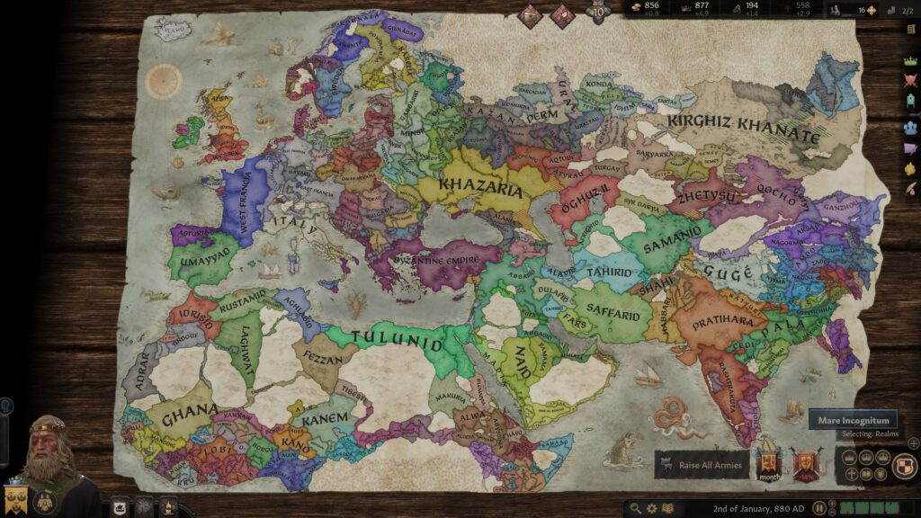 Crusader kings 3 map