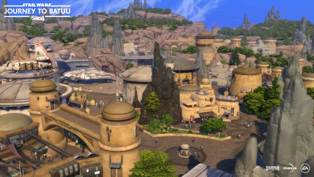 The Sims 4 Star Wars Journey to Batuu trailer