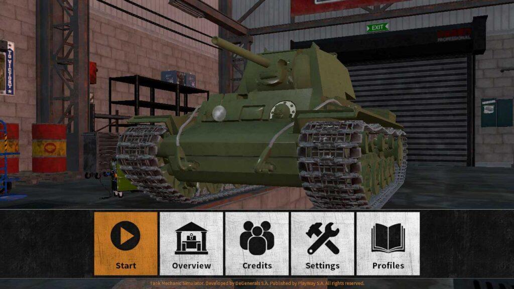 Tank Mechanic Simulator Review
