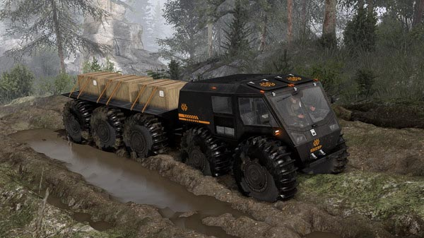 Spintires SHERP Ural Challenge DLC Review