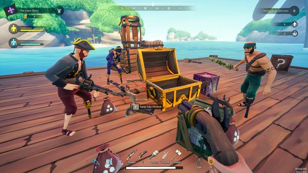 Blazing Sails Pirate Battle Royale Preview