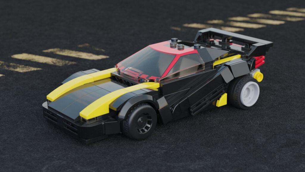 BrickPunk 2077 Quadra Car