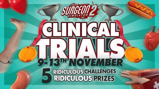 Surgeon Simulator 2 Clinical Trials